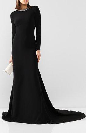 Женское платье-макси STELLA MCCARTNEY черного цвета, арт. 599747/SCA06 | Фото 2