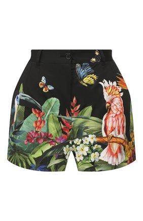Женские хлопковые шорты DOLCE & GABBANA разноцветного цвета, арт. FTBTQT/GDU62 | Фото 1