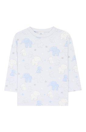 Детский хлопковая пижама SANETTA голубого цвета, арт. 221531 50308 | Фото 2