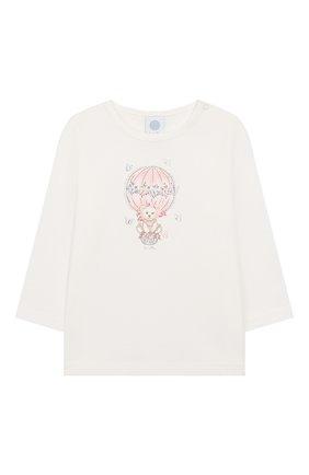 Детский хлопковая пижама SANETTA белого цвета, арт. 221522 1427 | Фото 2