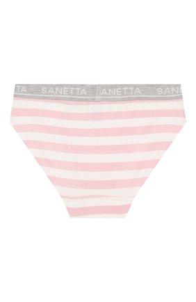 Детские трусы SANETTA розового цвета, арт. 346032 3526 | Фото 2