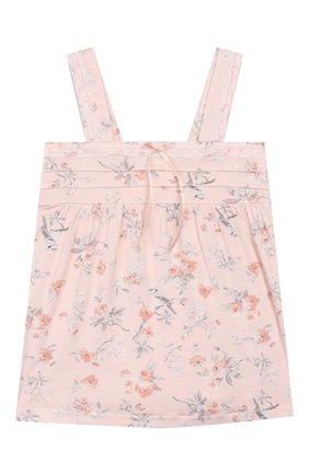 Детская пижама LA PERLA розового цвета, арт. 71081/2A-6A | Фото 2