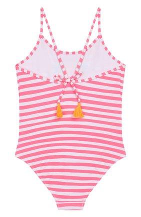 Детского слитный купальник SUNUVA розового цвета, арт. S2241/1-6 | Фото 2