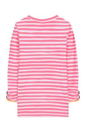 Детская пляжный лонгслив SUNUVA розового цвета, арт. S2240/7-14 | Фото 2
