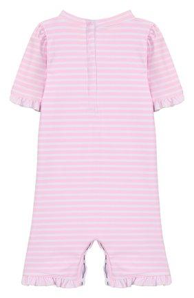 Детского плавательный комбинезон SUNUVA розового цвета, арт. S2033 | Фото 2
