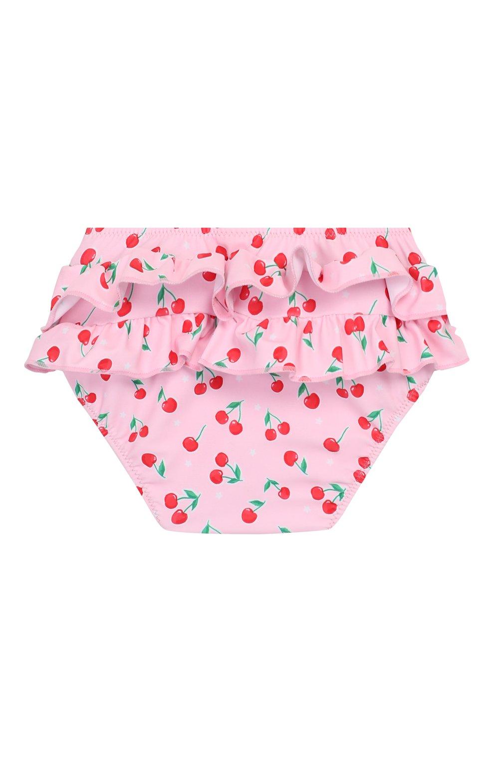 Детского плавки SUNUVA розового цвета, арт. S2031 | Фото 2 (Материал внешний: Синтетический материал; Ростовка одежда: 18 мес | 86 см)
