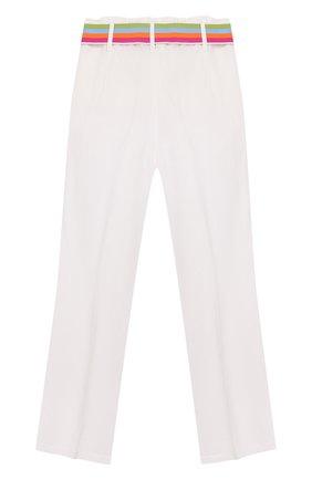Детского брюки INDEE белого цвета, арт. G0ELAND/WHITE/12A-18A | Фото 2