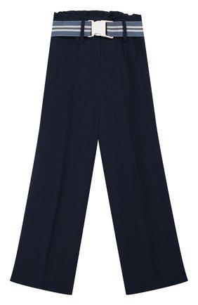 Детского брюки INDEE синего цвета, арт. G0ELAND/ECLIPSE/8A-10A | Фото 1