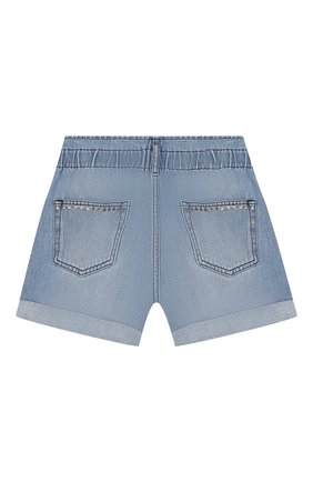 Детские джинсовые шорты INDEE голубого цвета, арт. GARFIELD/DENIM/12A-18A | Фото 2