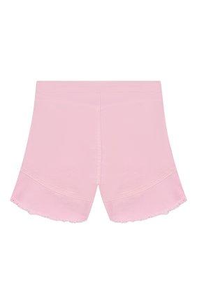 Детские хлопковые шорты INDEE светло-розового цвета, арт. GISELE/BLUSH/8A-10A | Фото 2
