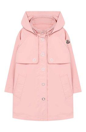 Детский плащ MONCLER светло-розового цвета, арт. F1-954-1C701-10-5499N/4-6A | Фото 1