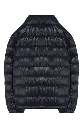 Детский пуховая куртка MONCLER синего цвета, арт. F1-954-1A506-20-68950/4-6A   Фото 2
