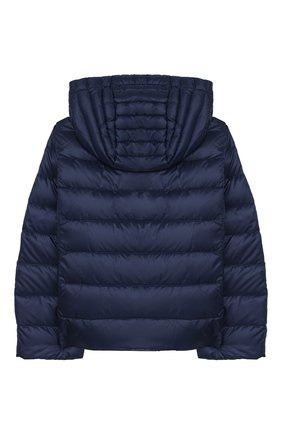 Детского пуховая куртка MONCLER темно-синего цвета, арт. F1-954-1A131-10-53048/4-6A   Фото 2