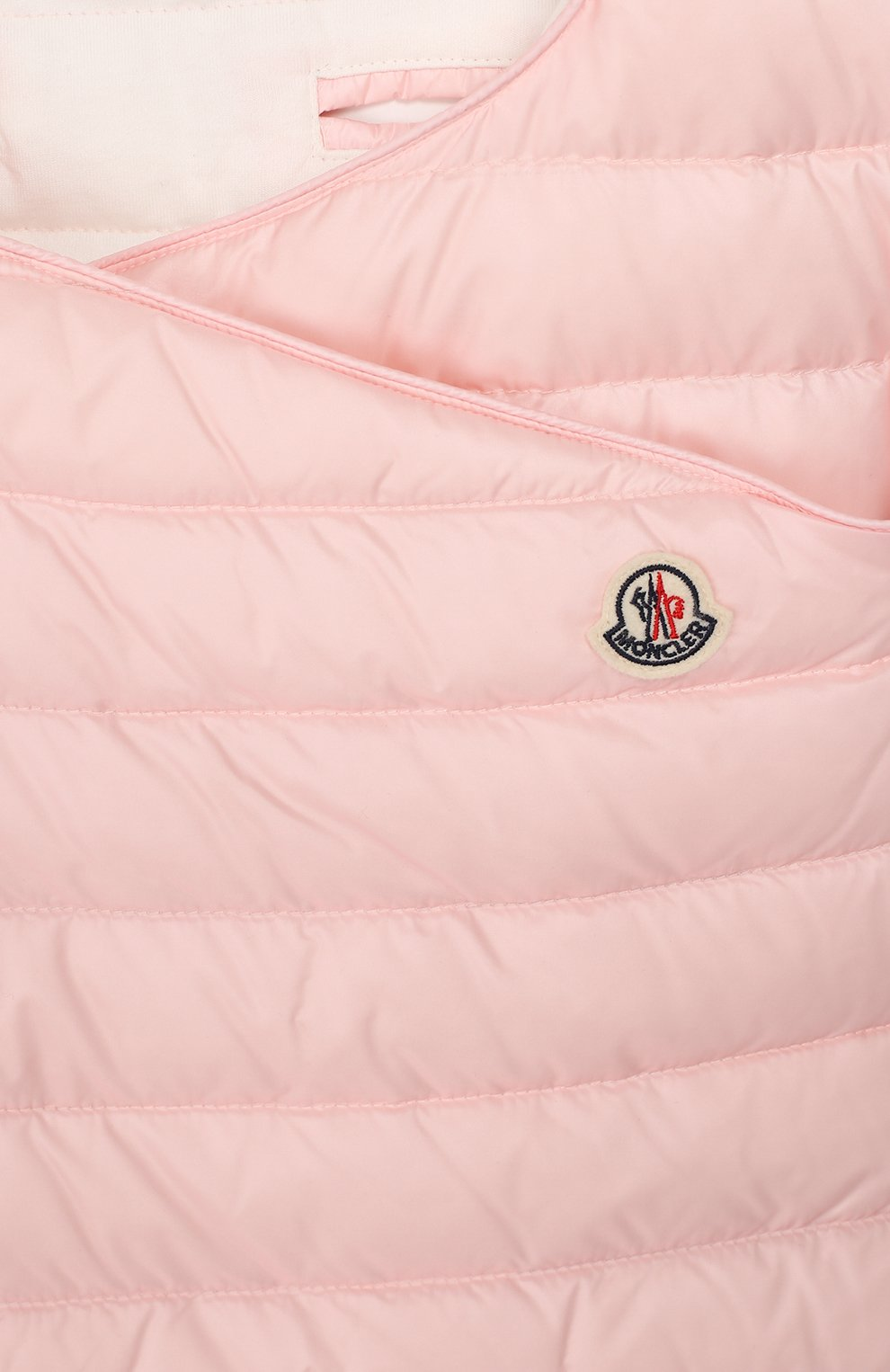 Детский пуховый конверт MONCLER розового цвета, арт. F1-951-1G701-00-C0401 | Фото 3