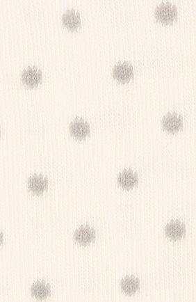 Детские хлопковые колготки FALKE бежевого цвета, арт. 13590   Фото 2