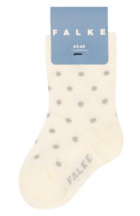 Детские носки FALKE бежевого цвета, арт. 12090 | Фото 1