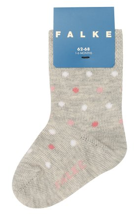 Детские носки FALKE серого цвета, арт. 12090 | Фото 1
