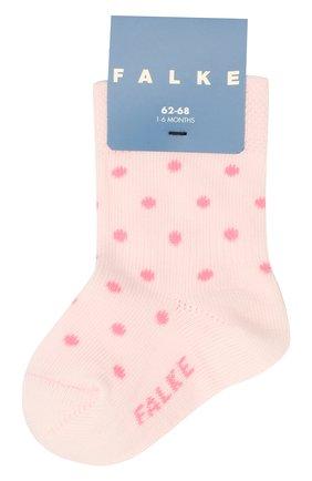 Детские носки FALKE светло-розового цвета, арт. 12090 | Фото 1