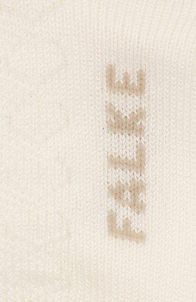 Детские хлопковые носки FALKE бежевого цвета, арт. 12120 | Фото 2