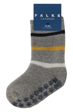 Детские носки FALKE серого цвета, арт. 12181 | Фото 1