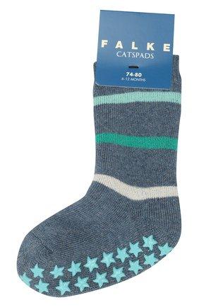 Детские носки FALKE синего цвета, арт. 12181 | Фото 1