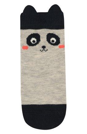 Детские носки FALKE серого цвета, арт. 12257 | Фото 1