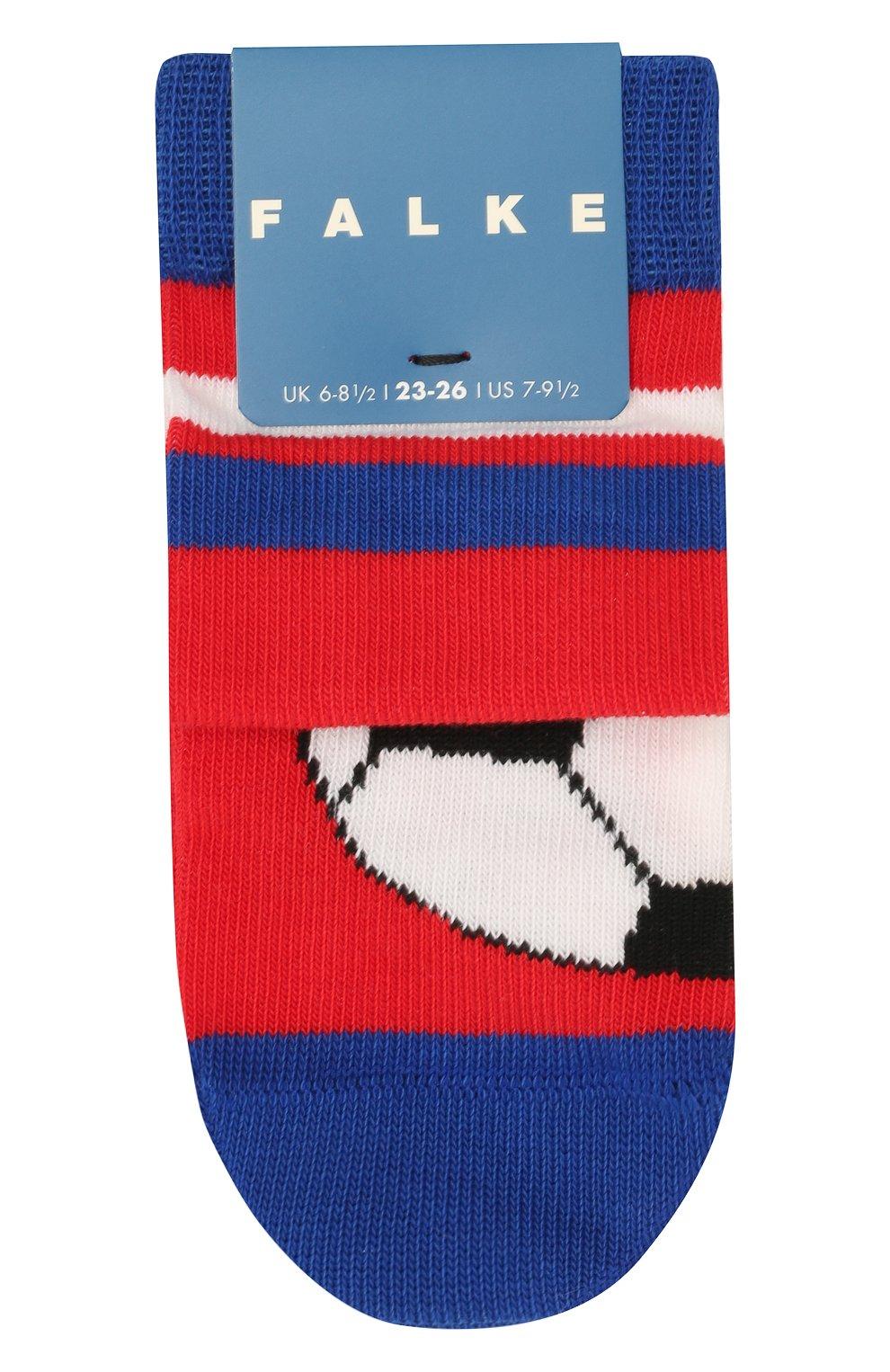Детские носки FALKE красного цвета, арт. 12263 | Фото 1