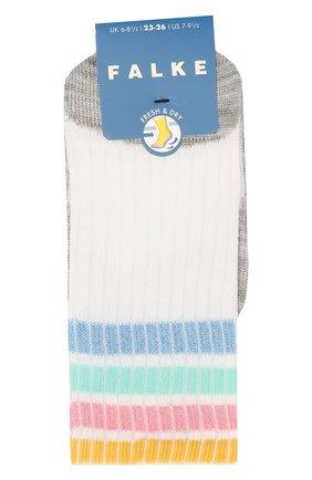 Детские носки FALKE белого цвета, арт. 12276 | Фото 1