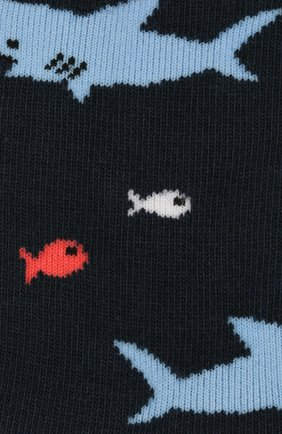 Детские носки FALKE темно-синего цвета, арт. 12278 | Фото 2