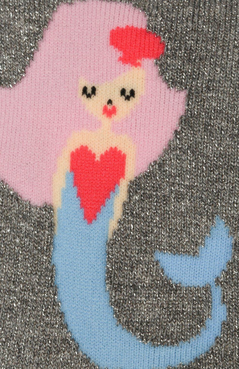 Детские носки FALKE серого цвета, арт. 12279   Фото 2