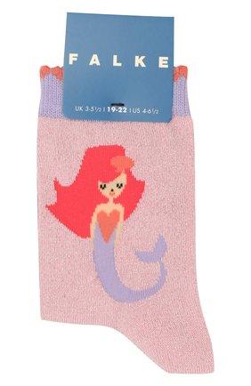 Детские носки FALKE светло-розового цвета, арт. 12279 | Фото 1