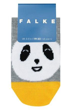 Детские носки FALKE серого цвета, арт. 12396 | Фото 1
