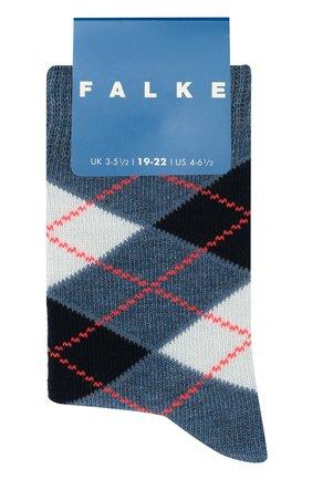 Детские носки FALKE голубого цвета, арт. 11973 | Фото 1