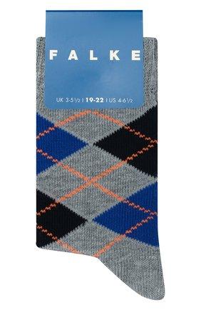 Детские носки FALKE серого цвета, арт. 11973 | Фото 1