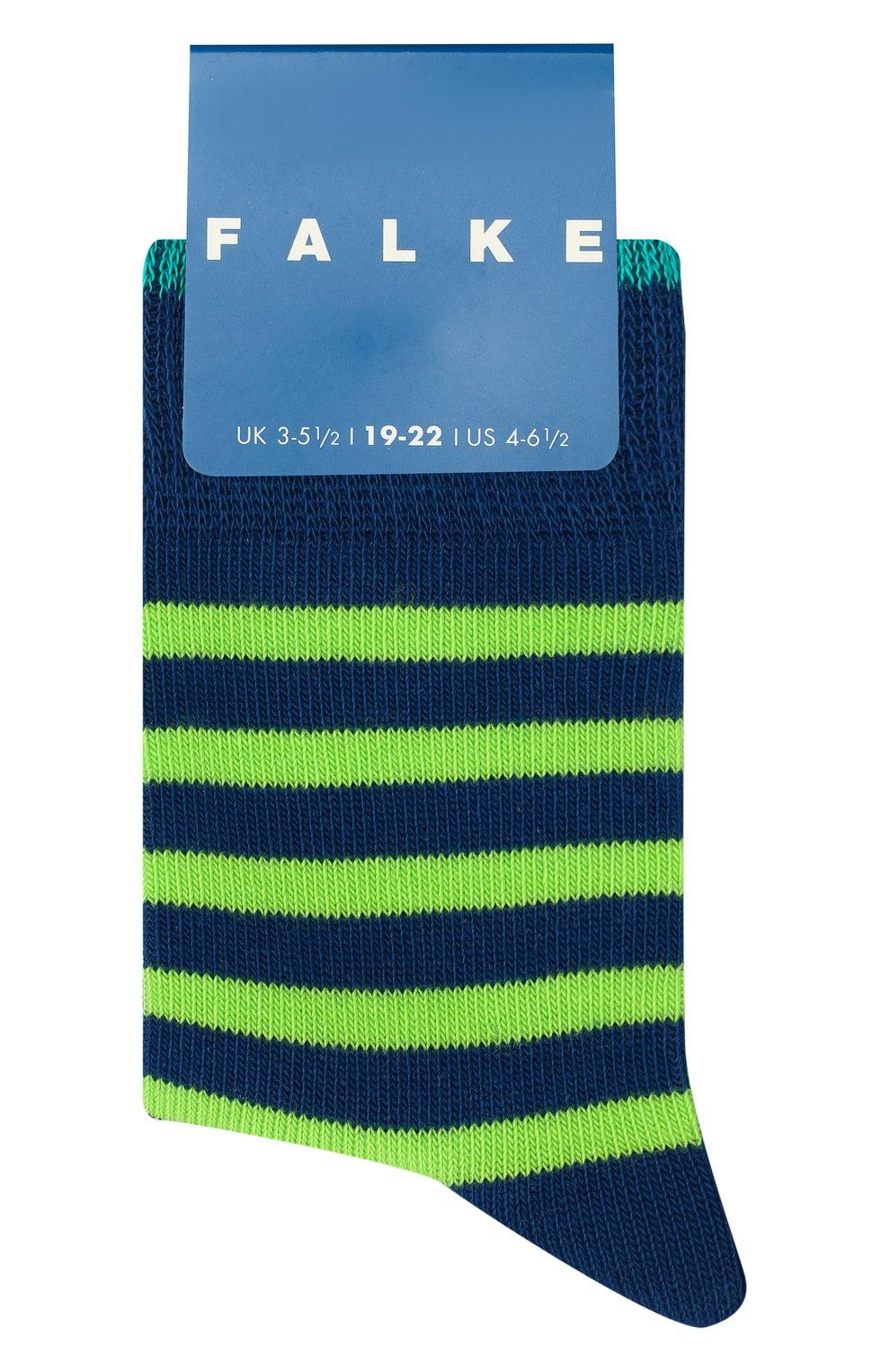 Детские носки FALKE зеленого цвета, арт. 11917 | Фото 1