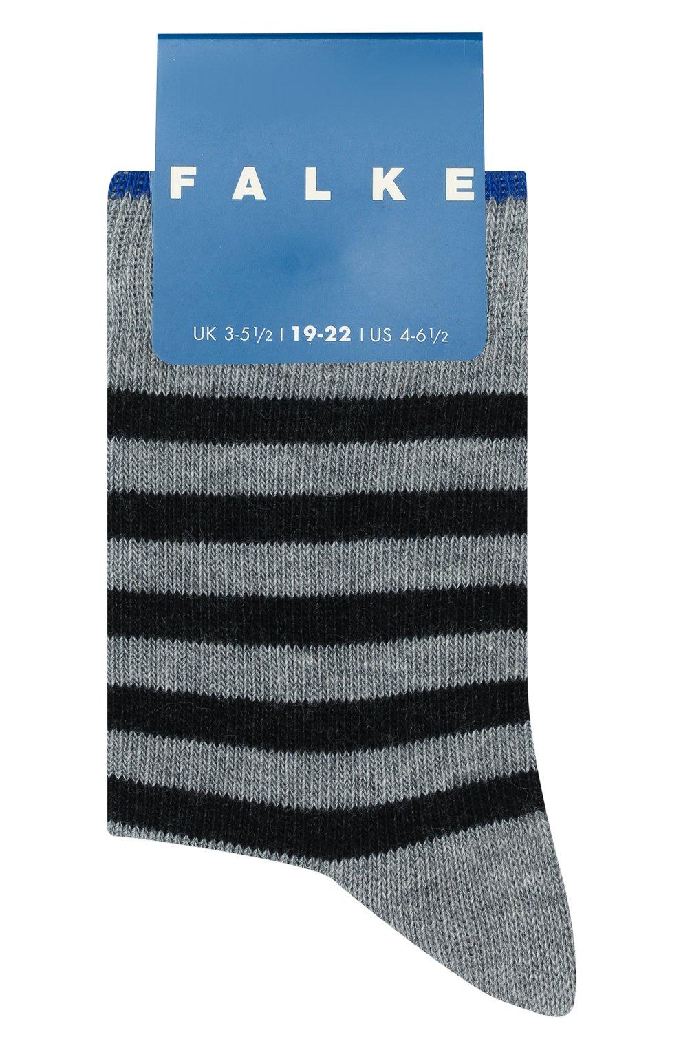 Детские носки FALKE серого цвета, арт. 11917 | Фото 1