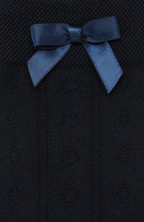Детские гольфы FALKE темно-синего цвета, арт. 11851 | Фото 2