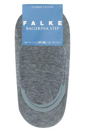 Детские хлопковые носки FALKE серого цвета, арт. 10694 | Фото 1