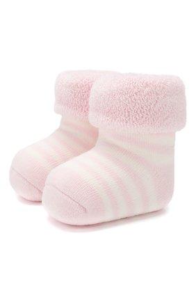 Детские хлопковые носки FALKE светло-розового цвета, арт. 10040 | Фото 1