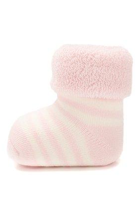 Детские хлопковые носки FALKE светло-розового цвета, арт. 10040 | Фото 2