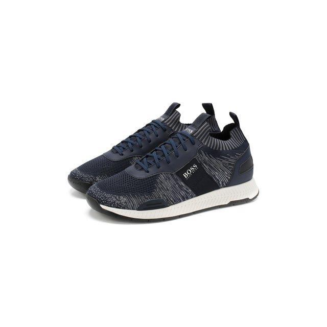 Текстильные кроссовки BOSS — Текстильные кроссовки