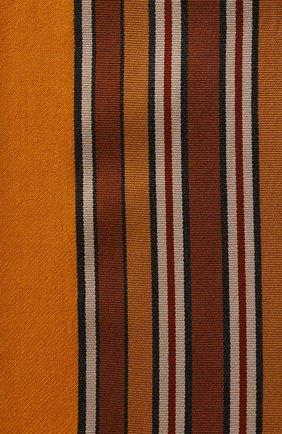 Женская шаль из смеси шелка и кашемира LORO PIANA желтого цвета, арт. FAI2568 | Фото 2