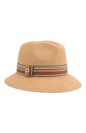 Женская соломенная шляпа ingrid LORO PIANA бежевого цвета, арт. FAI5791 | Фото 1