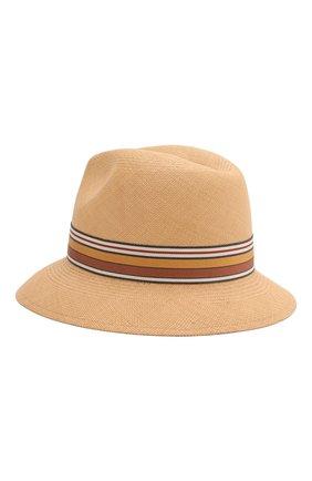 Женская соломенная шляпа ingrid LORO PIANA бежевого цвета, арт. FAI5791 | Фото 2
