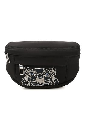 Женская поясная сумка tiger KENZO черного цвета, арт. FA55SF307F22 | Фото 1