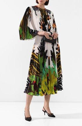 Женская текстильные туфли cardinale DOLCE & GABBANA черного цвета, арт. CG0412/AX975 | Фото 2