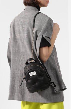Женский рюкзак glam slam MAISON MARGIELA черного цвета, арт. S56WA0014/PR818 | Фото 2