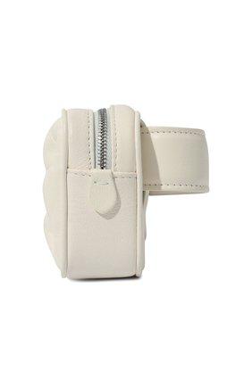 Женская поясная сумка glam slam MAISON MARGIELA белого цвета, арт. S56WB0013/PR818 | Фото 2
