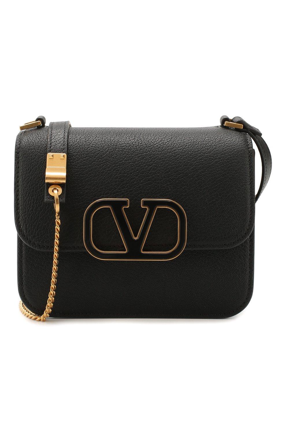 Женская  сумка valentino garavani vsling small VALENTINO черного цвета, арт. TW0B0F01/ACY | Фото 6