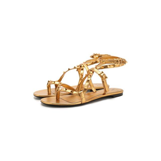 Кожаные сандалии Valentino Garavani Rockstud Flair Valentino